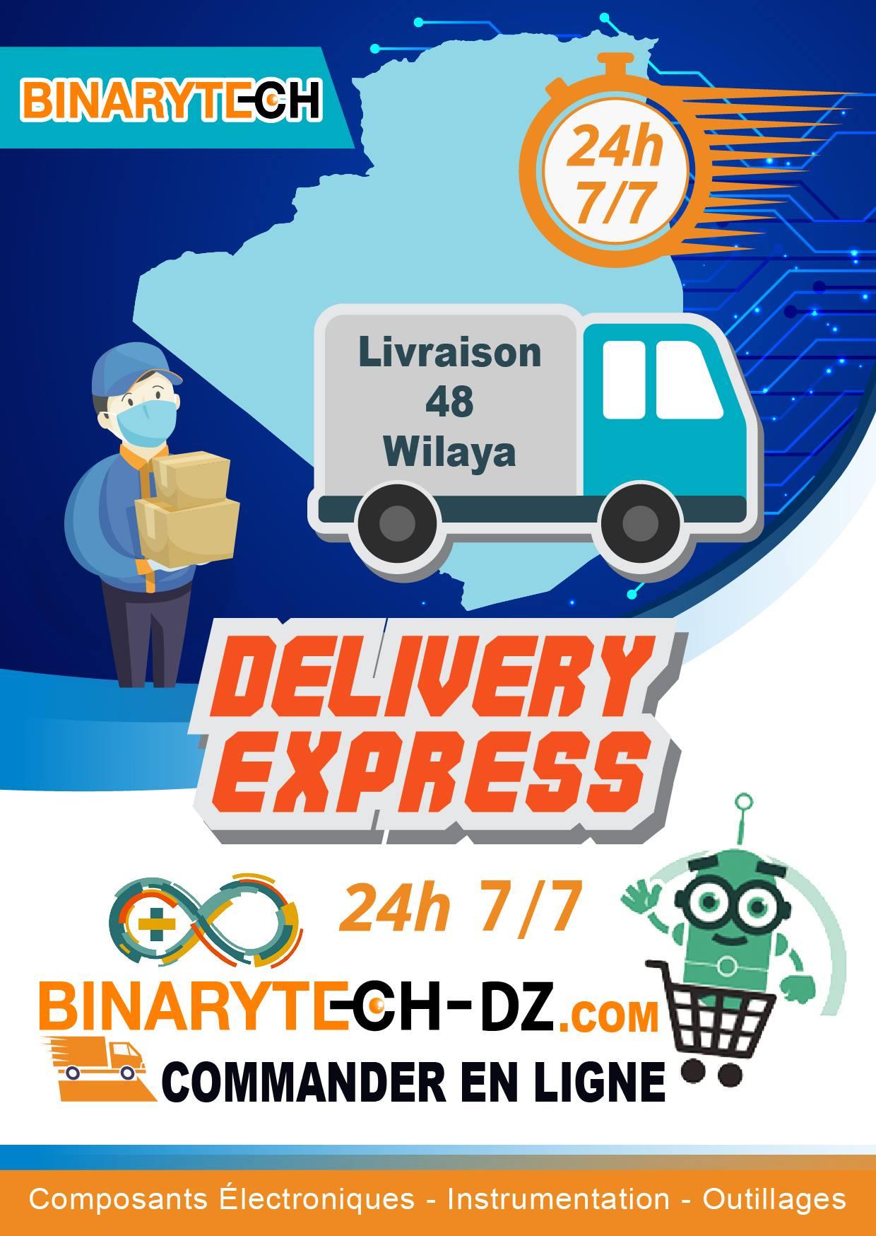 Livraison Binarytech