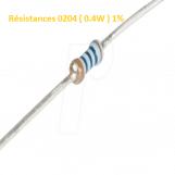 Résistances 0204 ( 0.4W ) 1%